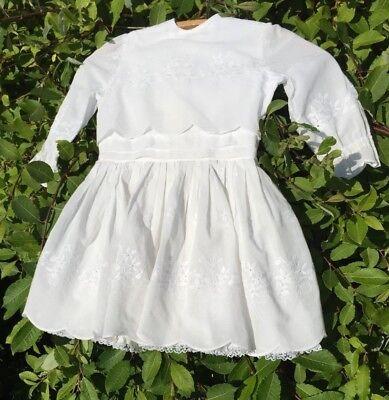 Avere Una Mente Inquisitrice Vintage Ragazze Vestito Per Festa Broderie Anglais Da Sarto 1960s Made-mostra Il Titolo Originale