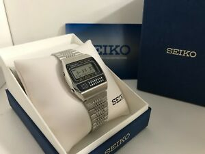 Seiko-C359-5000-Calculator-Chrono-Alarm-Quartz-LCD-Vintage-Collectible-Watch