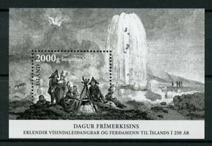 Iceland-Stamps-2017-MNH-Day-of-Stamp-250-Years-of-Exploration-Expedition-1v-M-S