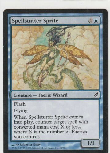 1x SPELLSTUTTER SPRITE Lorwyn Blue Common NMINT Card MTG Magic The Gathering