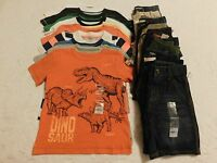 Boys Clothes Size 4 4t Summer Shirts Shorts Lot Brand Retail $450 Lot 1