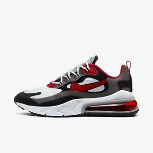 Details about Nike Air Max 270 React Men's Shoes Sneakers Grey/Black/Red  CI3866-002 US 7-13