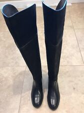 dfe7630f1 Tory Burch Simone 35mm Over The Knee Boot Vintage Buffalo Black Size ...