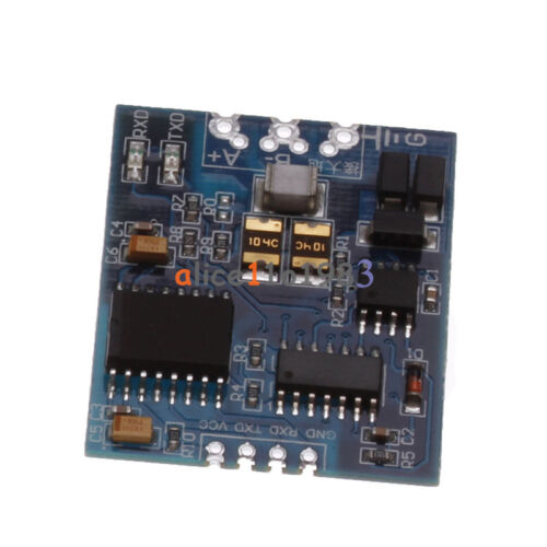 3V-5.5V Industrial TTL To RS485 Module RS485 To TTL Serial UART With Isolation
