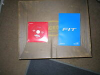 2017 Honda Fit Owners Manual With Cd-rom Disc