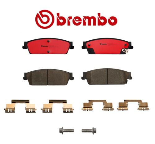 Rear Brake Pad Set With Shims Brembo 19329677 For Cadillac Chevrolet GMC Yukon