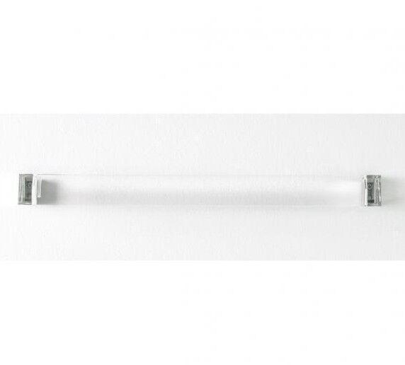 Laufen KARTELL TOWEL RAIL Transparent Crystal- 300x75x40mm Or 600x75x40mm