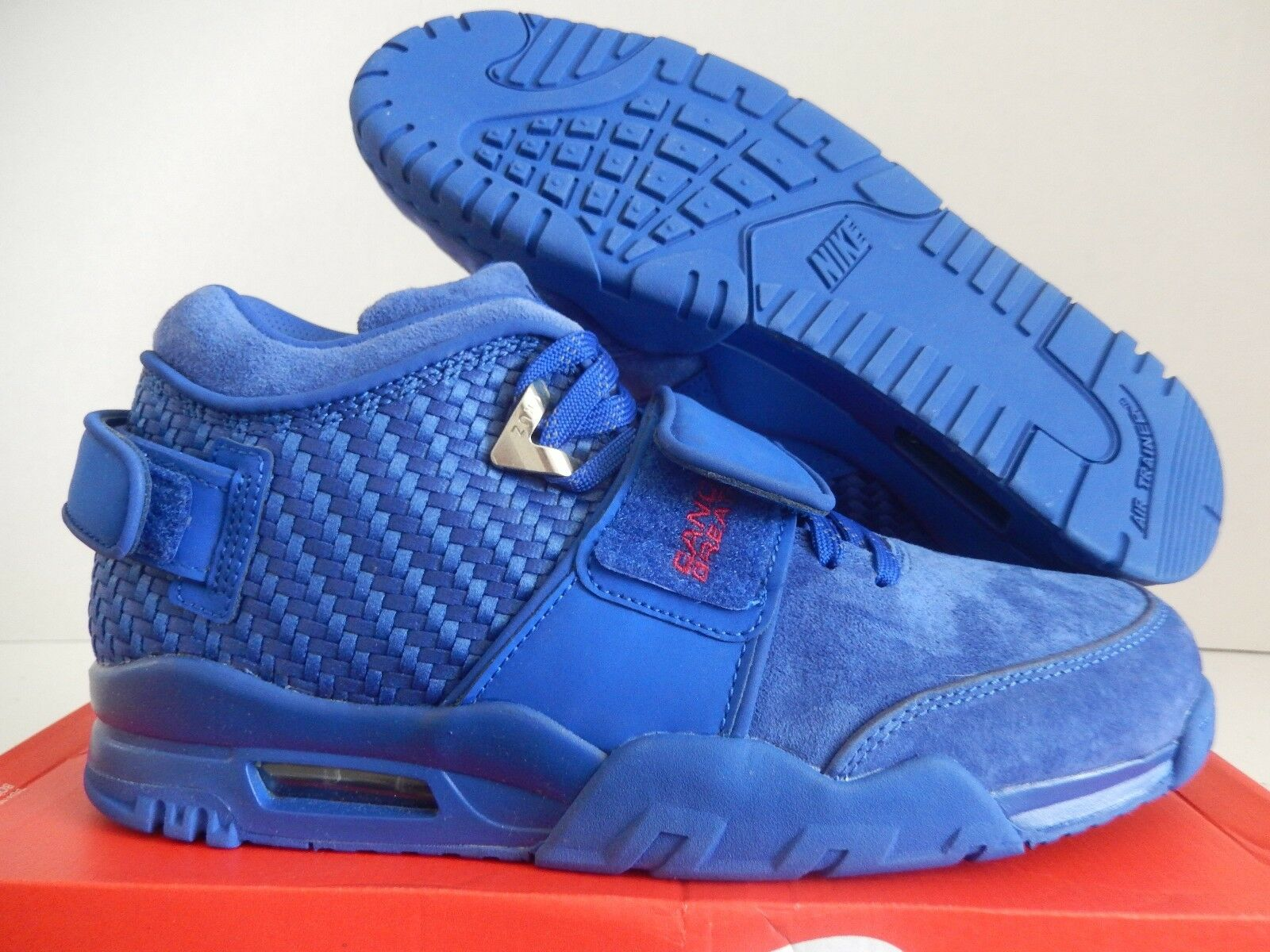 nike air tr. c. cruz pmr Bleu Bleu Bleu -gym premium rush Rouge  sz 11 [812637-400] 96fb85