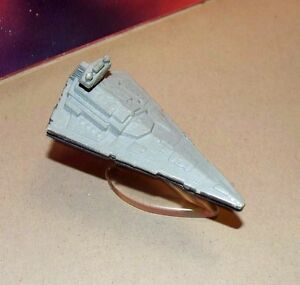 Lot of 2 Star Wars Micro Machines Galoob Imperial Star Destroyer 1996 Metal EUC
