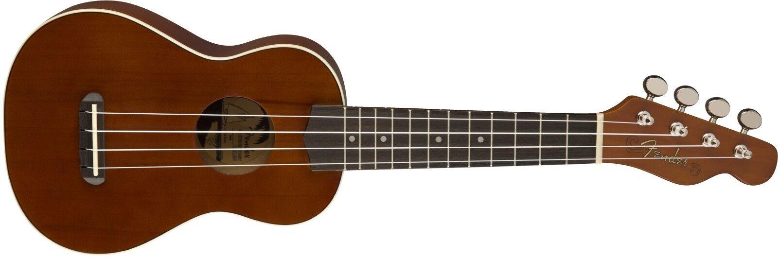 Ukelele Soprano Fender Fender Fender Venecia, Natural  0965060021 a82100
