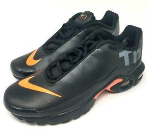 air max plus tn se bg black orange