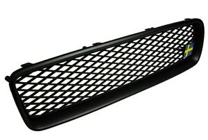 VOLVO-S40-V50-2004-2007-MESH-Sport-Grill-Grille-ALL-MATTE-BLACK-ABS-RARE-DSX