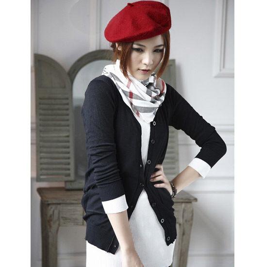 Damenmütze Mütze Baske Baskenmütze Wollmütze Beanie Beret Cap Wintermütze Wolle