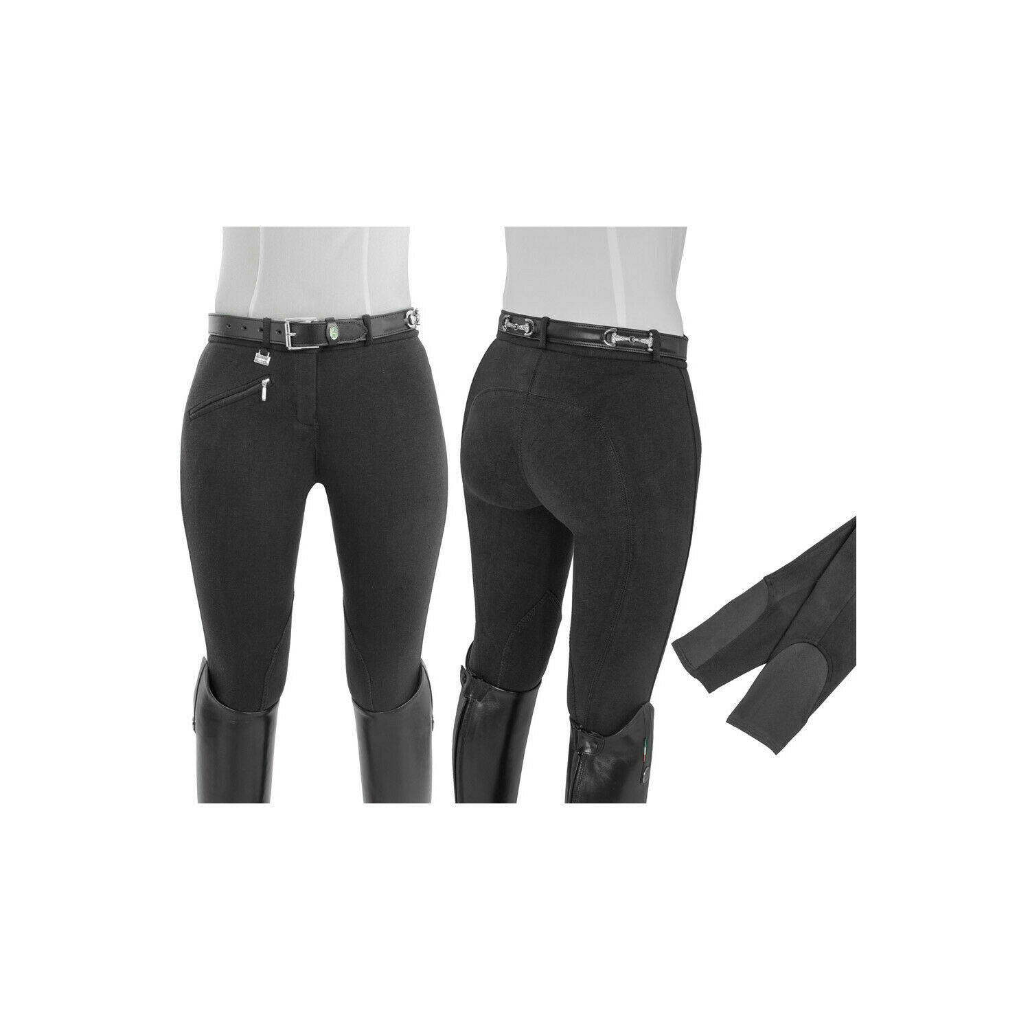 Trousers daSie Selene equestro Fitted Waist
