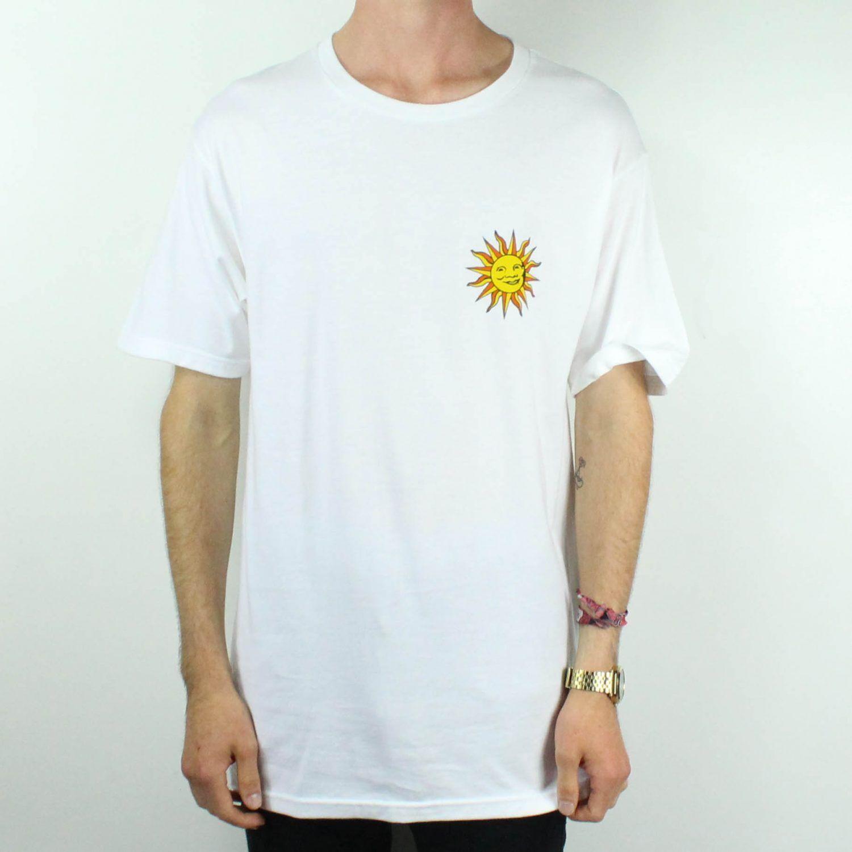 Stussy International Sun T-Shirt Tee Brand New in Weiß in Größe M,L