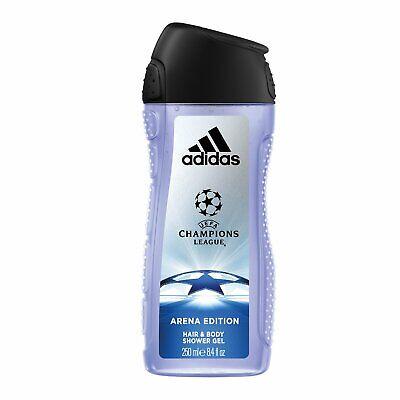 Adidas UEFA Champions League Arena Edition 2in1 Cabello y Cuerpo Gel de Ducha 250ml | eBay
