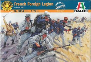 Italeri-French-Foreign-Legion-Infantry-Colonial-Wars-1-72-Scale-No-6054