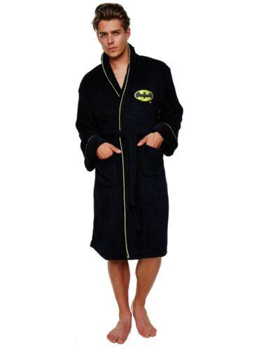 gratuita successivo giorno Accappatoio Gown Consegna Fleece il Robe Bath Batman Mens Dressing THq7n7