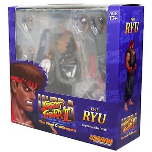 Figurine Maléfique Ryu à l'échelle 1/12 ultra de Storm Collectibles - New