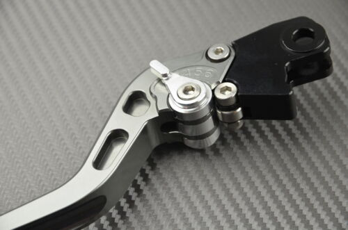 levier leviers levers long CNC titane titanium Suzuki GSXR 750 K1 K2 K3 2000-03