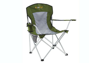Oztrail-Deluxe-Arm-Chair-Green