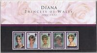GB Presentation Pack Diana Princess of Wales 1998 10% OFF FOR ANY 5+