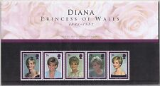 GB presentazione Pack DIANA Principessa di Galles 1998 10% OFF per ogni 5 +