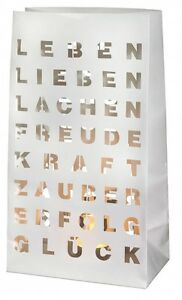 Lichttuete-Stimmungslicht-2er-Set-LEBEN-LIEBEN-LACHEN-inkl-Teelichtglaeser-Raeder
