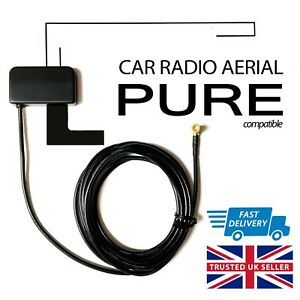 Details about DAB Aerial for PURE Highway H240Di CAR RADIO | Glass Mount  Digital Antenna