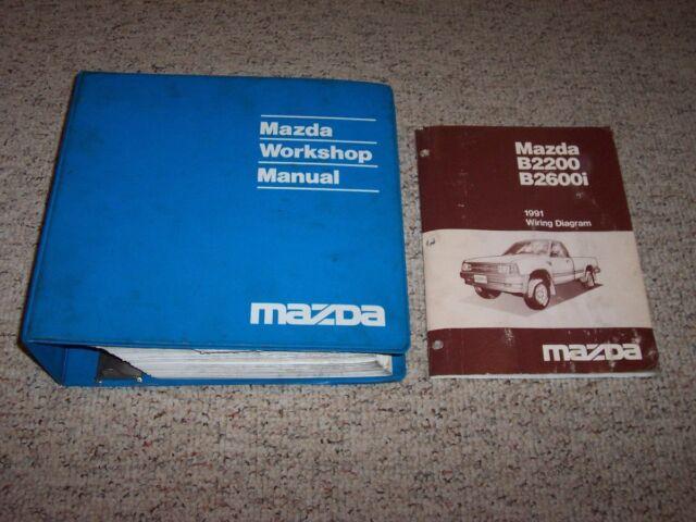 1991 Mazda B2200 B2600i B
