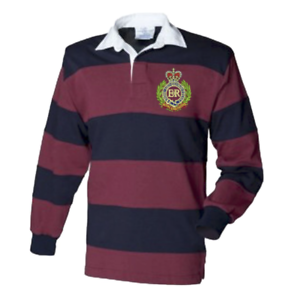 Royal Engineers Rugby Shirt Personalised embroidered