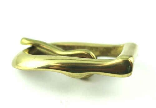 """BELT BUCKLE FITS 3//4/"""" WIDE BELTS SINGLE PRONGED REPLACEMENT BUCKLE SOLID BRASS"""