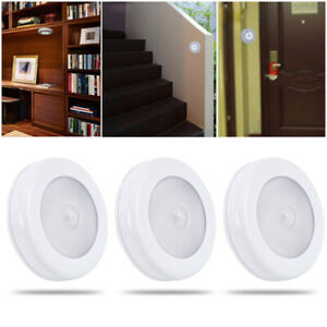 3X-LED-Motion-Sensor-Light-Outdoor-Indoor-Wall-Stair-Shed-Lamp-Battery-Safety