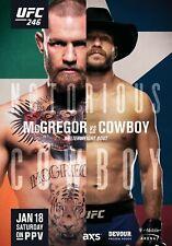 "Art Hot Conor McGregor vs Alvarez UFC 205 Silk Custom Poster 24x36/"" 27/"" P-1361"