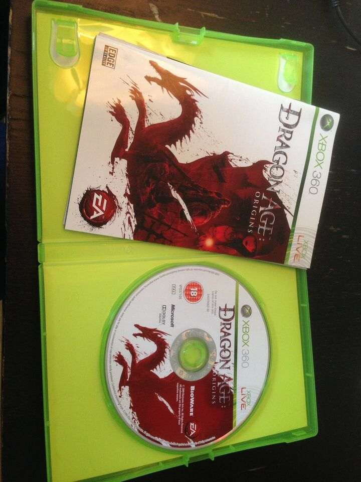 Dragon Age Origins, Xbox 360, rollespil