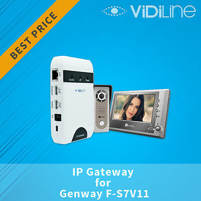 IP Gateway for Video door phone Genway F-S7V11 Open your gate by your phone !!!