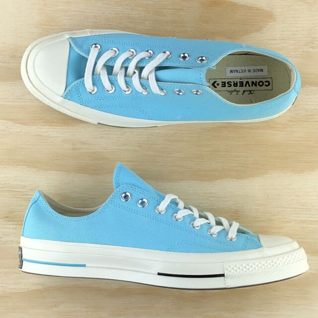 Converse Chuck Taylor All Star 70 Ox Low Top Light Blue White Black 160523C Size
