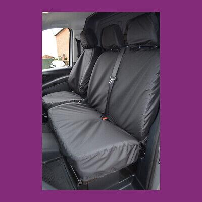 Mercedes Vito Van 2003-2015 Tailored Waterproof Grey Front Pair Seat Covers
