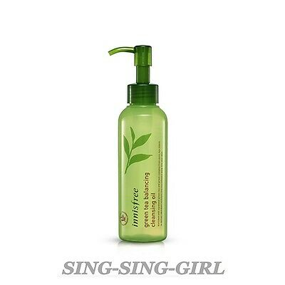 Innisfree Green Tea Balancing Cleansing Oil 150ml Cleanser sing-sing-girl