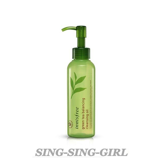 Innisfree Green Tea Balancing Cleansing Oil 150ml Cleanser sing-sing-girl