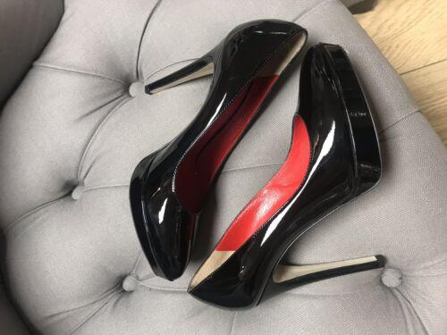 Dolce g 695 D £ 4 Heel Black Erano Gabbana Sz Patent pvqxrUnpTw