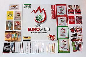 Panini-Euro-2008-loose-sticker-set-Swiss-album-packets-extra-stickers-MINT