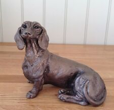 HD092 Frith Sculpture SPRINGER SPANIEL by Harriet Dunn in cold cast bronze