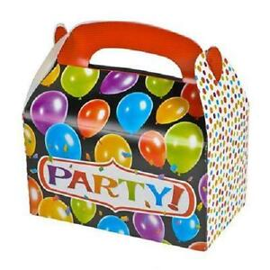 24 BASKETBALL TREAT BOXES Birthday Loot Goody Prize Gift Bag #ST68 FREE SHIPPING
