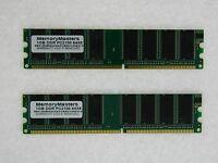 2gb (2x1gb) Memory For Abit Sg-72 Sg-80 Sr7-8x Sx7-533 Va-10 Va-11 Va-20 Vt7