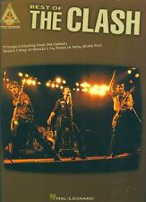 """THE BEST OF """"CLASH"""" GUITAR-TAB/VOCAL MUSIC BOOK BRAND NEW ON SALE ROCK SONGBOOK!"""