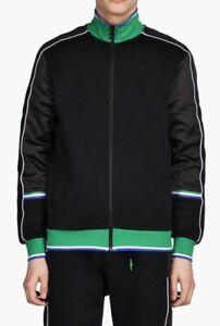 fad0b723195e  120 Puma x Big Sean T7 Track Jacket Men s Size XL Black White Green ...