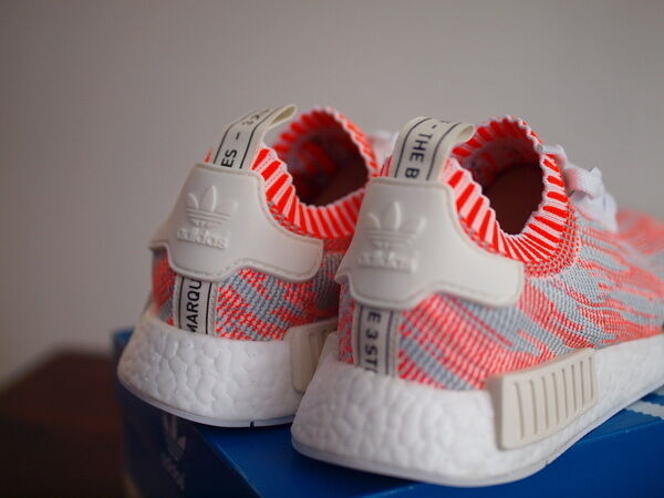 Neue adidas - rot - rosa - weißen nmd eu39.3 pk camo uk6 us6.5 eu39.3 nmd ds auftrieb 350 750 b4332c