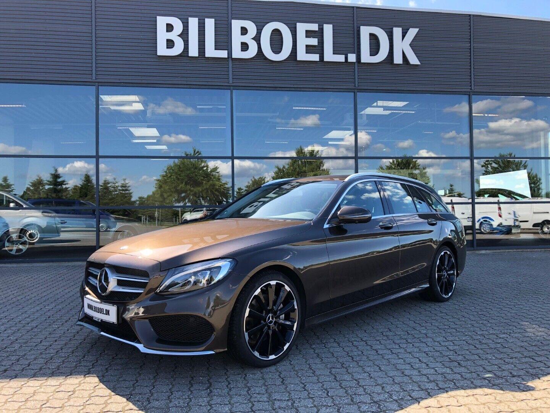 Mercedes C220 d 2,2 AMG Line stc. aut. 5d - 399.800 kr.
