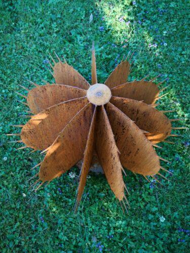 Edelrost Métal Jardin Connecteur Cactus Fleur déserts Fleur Cactus Gross XXXL